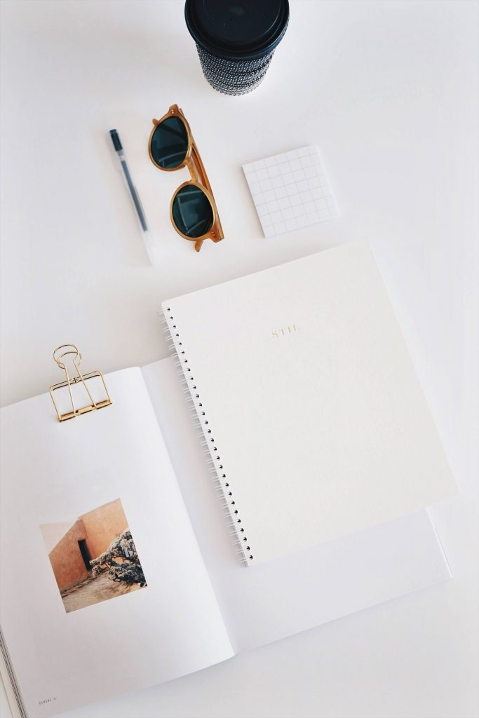 Notebook photography