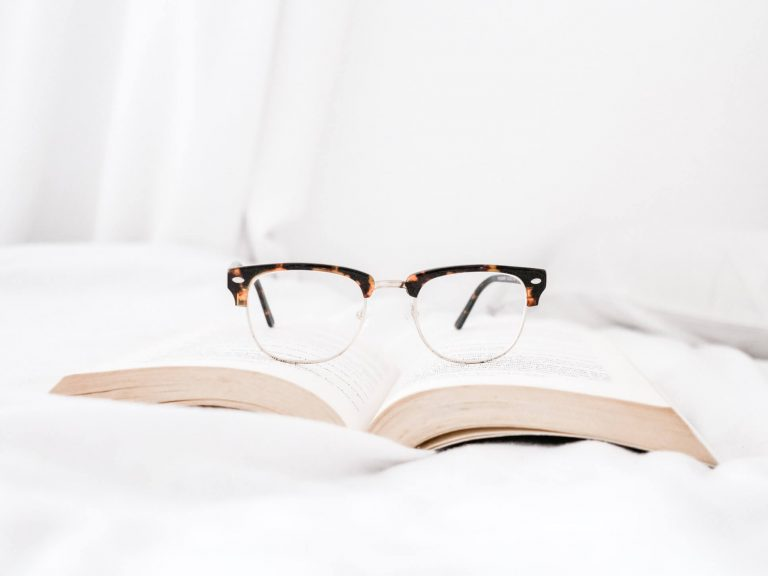 Glasses photography